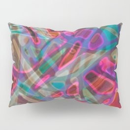 Colorful Abstract Stained Glass G297 Pillow Sham