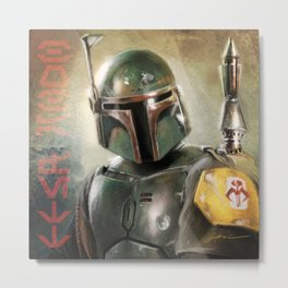 The Bounty Hunter Metal Print