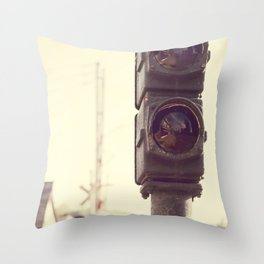 Railroad  Throw Pillow