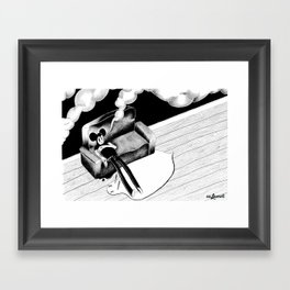 Smoke Up  Framed Art Print