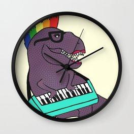 T-Rex Keyboard Wall Clock