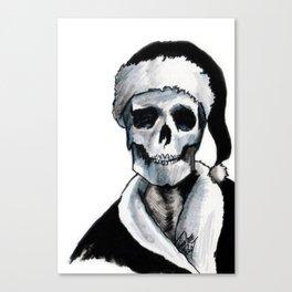 Blackest Ever Black Xmas Canvas Print