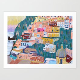 Joy - Positano, Italy Kunstdrucke