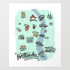 PORTLANDIA Art Print