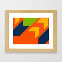 Onward, Onward Framed Art Print