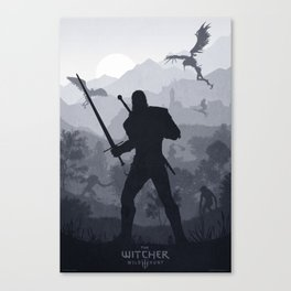 The Witcher 3 Wild Hunt Canvas Print