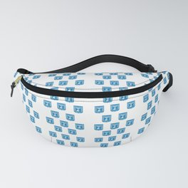 emblem of Israel 2-יִשְׂרָאֵל ,israeli,Herzl,Jerusalem,Hebrew,Judaism,jew,David,Salomon. Fanny Pack