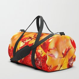 RED AND ORANGE AUTUMN Duffle Bag