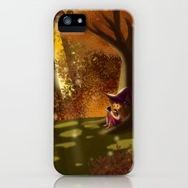 Autumn Approaches iPhone Case