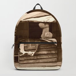 Old Log Cabin Backpack