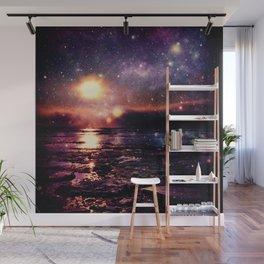 Mystic Waters Deep Jewel Tones Wall Mural