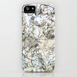 Hevelius' Prodomus Astronomia - Southern Celestial Hemisphere 1690 iPhone Case