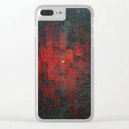 Ruddy Clear iPhone Case