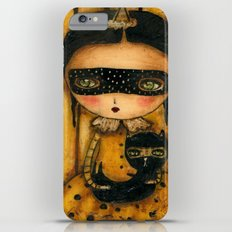 The Halloween Witch And The Black Cat Slim Case iPhone 6s Plus
