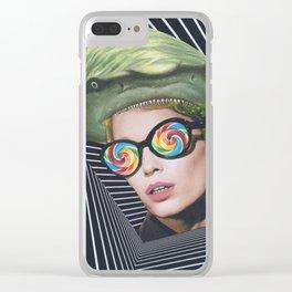 Headache Clear iPhone Case