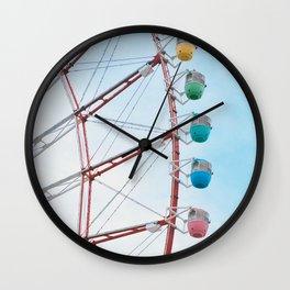 Ferris Wheel Odaiba Wall Clock