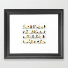 Crazy Seasons Framed Art Print