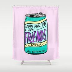 HFTWF Seltzer Shower Curtain