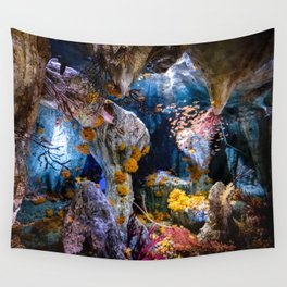 Enchanted Caves Wall Tapestry