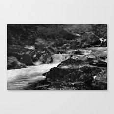 River, Snowdonia, Wales. Canvas Print