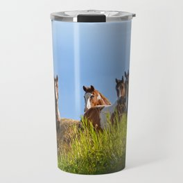 The Herd Greets Us Travel Mug
