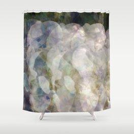 White Rose Exposures Shower Curtain
