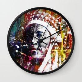 Native American INK Wall Clock