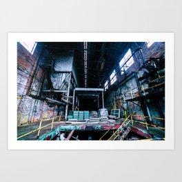Abandoned Asylum I Art Print