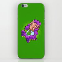 xenomorph iPhone & iPod Skins featuring Caring Hugs by Artistic Dyslexia