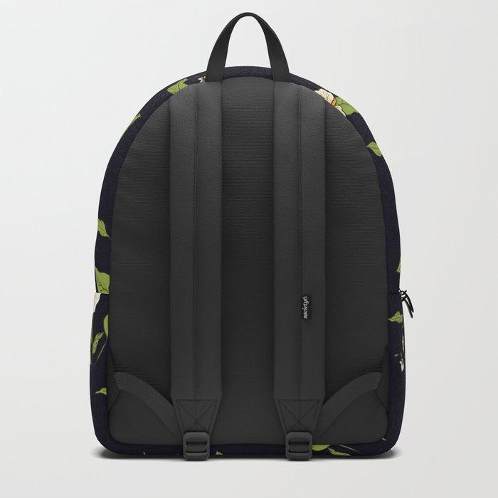 Yellow Tropical Flowers #society6 #decor #buyart Backpack