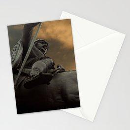 Statue of Wenceslas, Wenceslas Square, Prague Stationery Cards