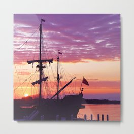 Sunrise over El Galeon Metal Print