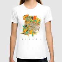sydney T-shirts featuring Sydney by Nicksman