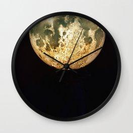 Planet Moon Wall Clock