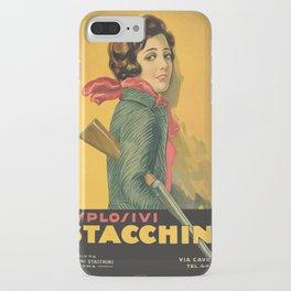 The Explosive Girl - 1929 iPhone Case
