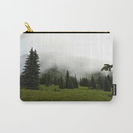 Misty Colorado Pines Carry-All Pouch