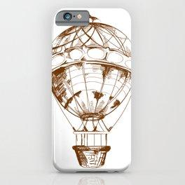 Balloon Sketch iPhone Case