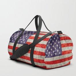 Antique American Flag Duffle Bag