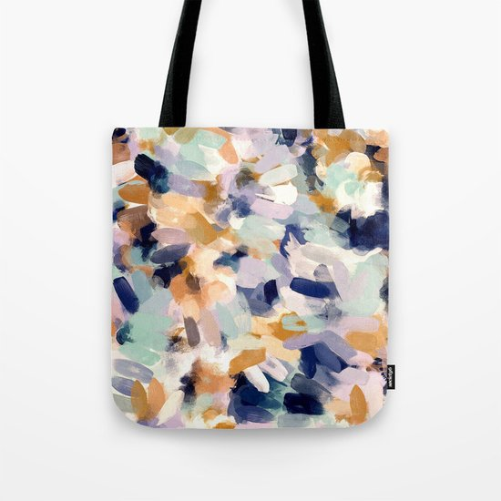 Lee - abstract brush strokes Tote Bag