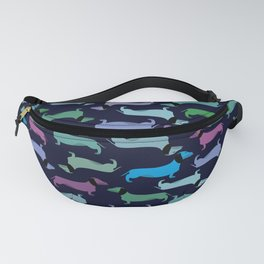 Colorful dachshunds Fanny Pack
