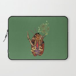 Cockroach all dressed up and ready to go paint the town Laptop Sleeve