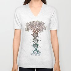 The Fabric of Life (Alternative) Unisex V-Neck