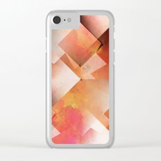 Abstract 2017 018 Clear iPhone Case