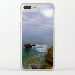 Ocean Swell 1 Clear iPhone Case