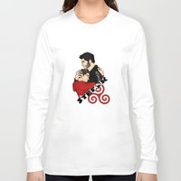 sterek Long Sleeve T-shirts featuring Sterek by adorible