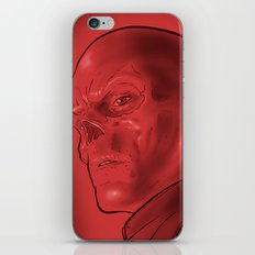 The Red Skull iPhone & iPod Skin