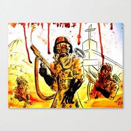 Acid Rain Canvas Print