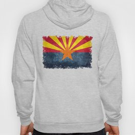 Flag of Arizona, Vintage Retro Style Hoody