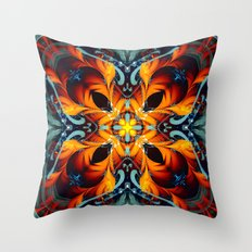 Mandala #7 Throw Pillow