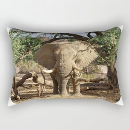 Voortrekker the Elephant Rectangular Pillow
